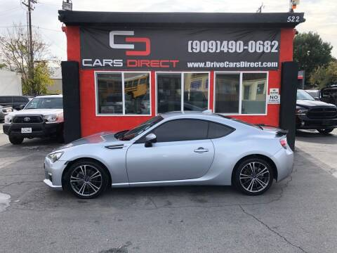 2015 Subaru BRZ for sale at Cars Direct in Ontario CA