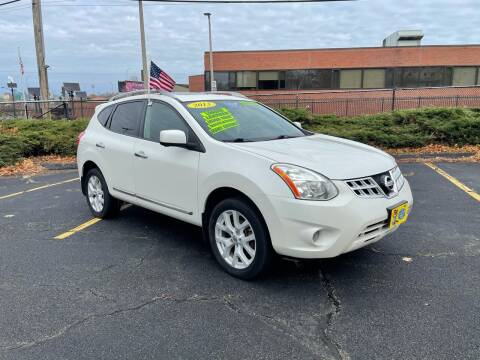 2013 Nissan Rogue for sale at Fields Corner Auto Sales in Dorchester MA