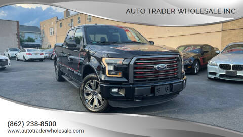 2016 Ford F-150 for sale at Auto Trader Wholesale Inc in Saddle Brook NJ