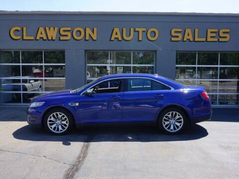 2013 Ford Taurus for sale at Clawson Auto Sales in Clawson MI