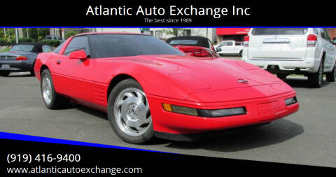 1993 Chevrolet Corvette for sale at Atlantic Auto Exchange Inc in Durham NC