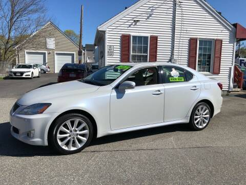2009 Lexus IS 250 for sale at Crown Auto Sales in Abington MA