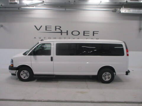 2019 Chevrolet Express Passenger for sale at Ver Hoef Automotive Inc in Sioux Center IA