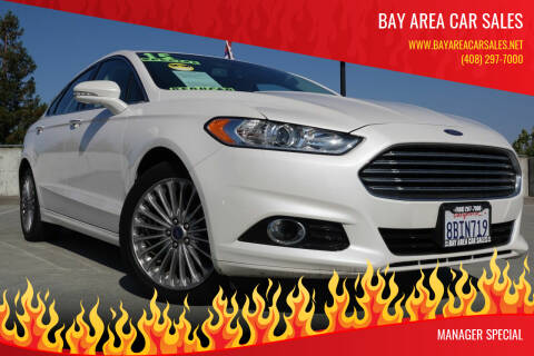 2015 Ford Fusion for sale at BAY AREA CAR SALES in San Jose CA
