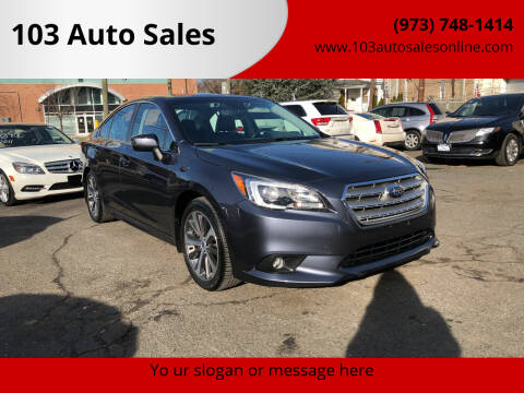2017 Subaru Legacy for sale at 103 Auto Sales in Bloomfield NJ