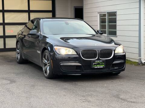 2011 BMW 7 Series for sale at Lux Motors in Tacoma WA
