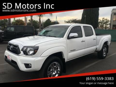 2015 Toyota Tacoma for sale at SD Motors Inc in La Mesa CA