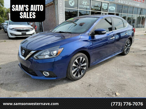 2018 Nissan Sentra for sale at SAM'S AUTO SALES in Chicago IL