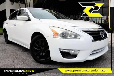 2013 Nissan Altima for sale at Premium Cars of Miami in Miami FL