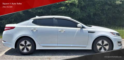 2012 Kia Optima Hybrid for sale at Square 1 Auto Sales - Commerce in Commerce GA