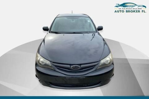 2011 Subaru Impreza for sale at INTERNATIONAL AUTO BROKERS INC in Hollywood FL