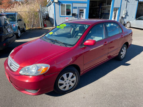 2004 Toyota Corolla for sale at Bridge Road Auto in Salisbury MA