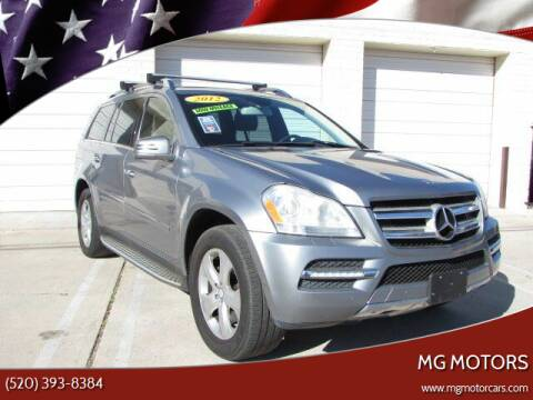 2012 Mercedes-Benz GL-Class for sale at MG Motors in Tucson AZ