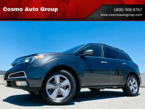 2013 Acura MDX for sale at Cosmo Auto Group in San Jose CA