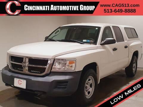2008 Dodge Dakota for sale at Cincinnati Automotive Group in Lebanon OH