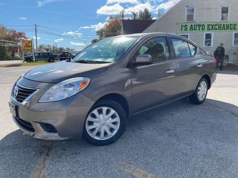 2013 Nissan Versa for sale at J's Auto Exchange in Derry NH