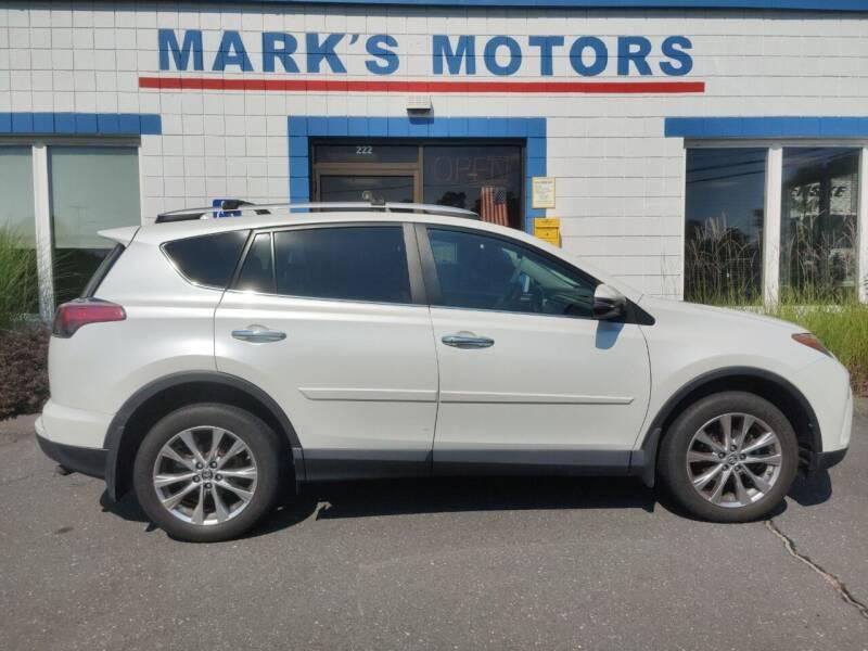 2016 Toyota RAV4 for sale at Mark's Motors in Northampton MA