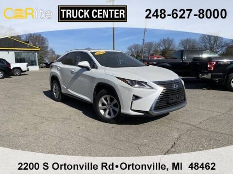 2016 Lexus RX 350 for sale at Carite Truck Center in Ortonville MI