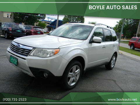 2010 Subaru Forester for sale at Boyle Auto Sales in Appleton WI