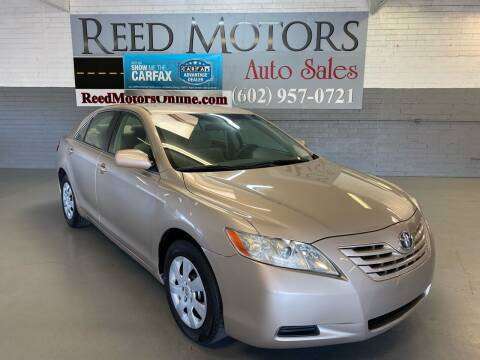 2008 Toyota Camry for sale at REED MOTORS LLC in Phoenix AZ