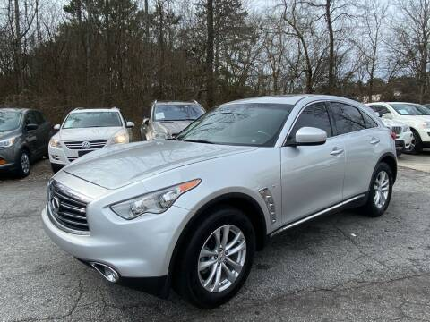 2016 Infiniti QX70 for sale at Car Online in Roswell GA