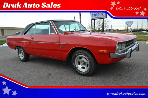 1972 Dodge Dart for sale at Druk Auto Sales in Ramsey MN