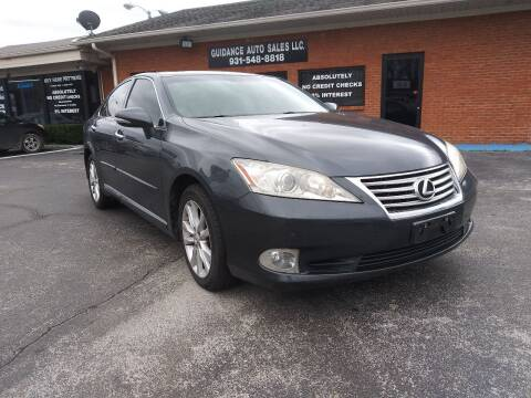 2011 Lexus ES 350 for sale at Guidance Auto Sales LLC in Columbia TN