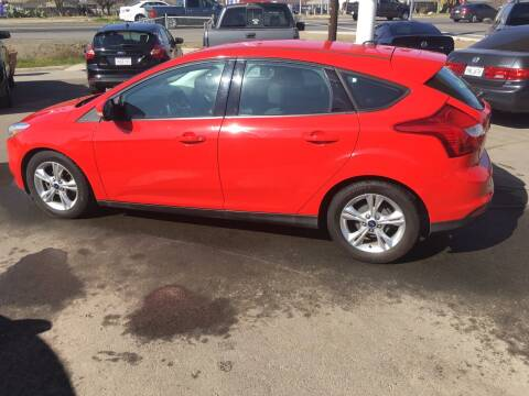 2014 Ford Focus for sale at CONTINENTAL AUTO EXCHANGE in Lemoore CA