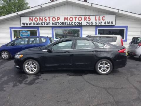2018 Ford Fusion for sale at Nonstop Motors in Indianapolis IN