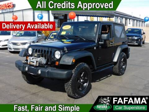 2011 Jeep Wrangler for sale at FAFAMA AUTO SALES Inc in Milford MA