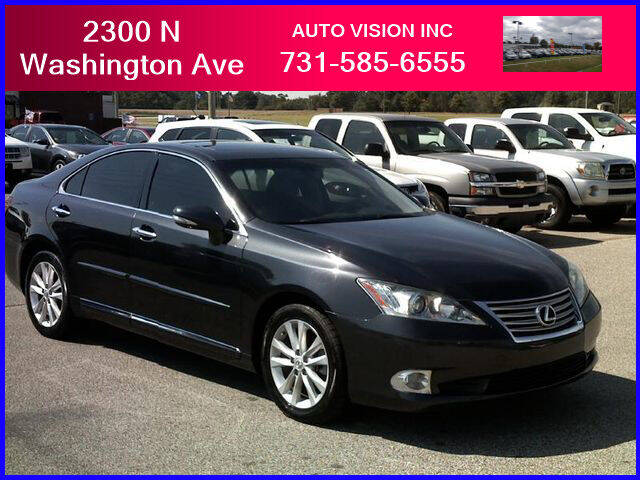 2011 Lexus ES 350 for sale at Auto Vision Inc. in Brownsville TN