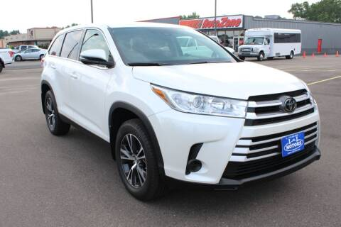 2019 Toyota Highlander for sale at L & L MOTORS LLC - REGULAR INVENTORY in Wisconsin Rapids WI