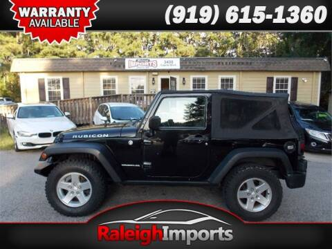 2008 Jeep Wrangler for sale at Raleigh Imports in Raleigh NC