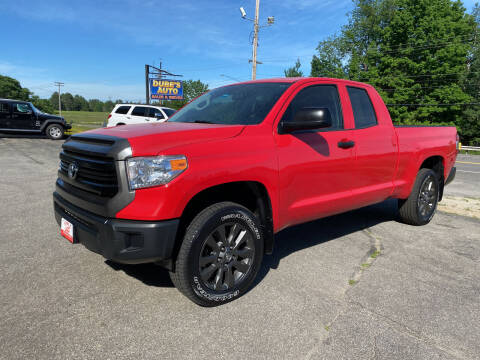 2015 Toyota Tundra for sale at Dubes Auto Sales in Lewiston ME
