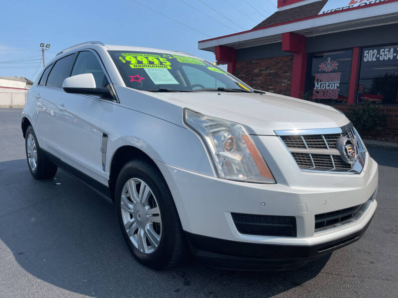 2010 Cadillac SRX for sale at Premium Motors in Louisville KY