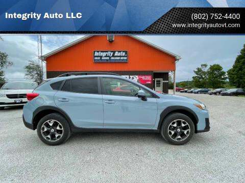 2018 Subaru Crosstrek for sale at Integrity Auto LLC - Integrity Auto 2.0 in St. Albans VT