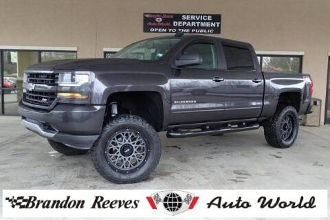 2016 Chevrolet Silverado 1500 for sale at Brandon Reeves Auto World in Monroe NC