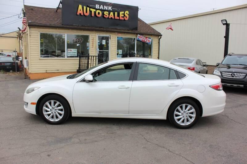 2013 Mazda MAZDA6 for sale at BANK AUTO SALES in Wayne MI