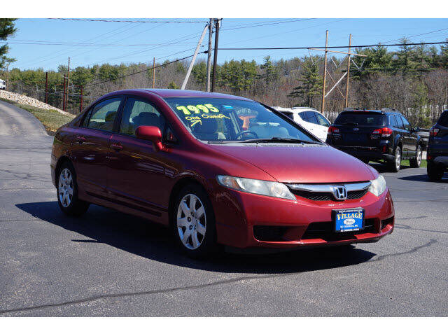 2010 Honda Civic for sale at VILLAGE MOTORS in South Berwick ME