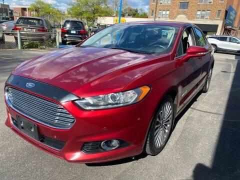 2013 Ford Fusion Hybrid for sale at H C Motors in Royal Oak MI