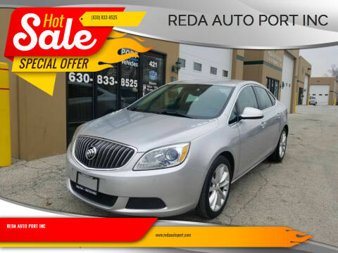 2015 Buick Verano for sale at REDA AUTO PORT INC in Villa Park IL