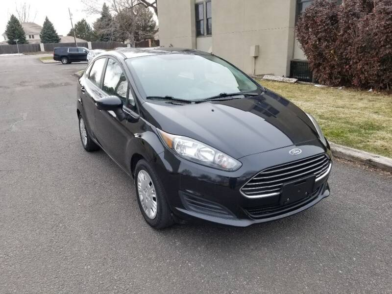 2015 Ford Fiesta for sale at Red Rock's Autos in Denver CO