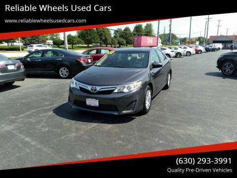 2012 Toyota Camry for sale at Reliable Wheels Used Cars in West Chicago IL