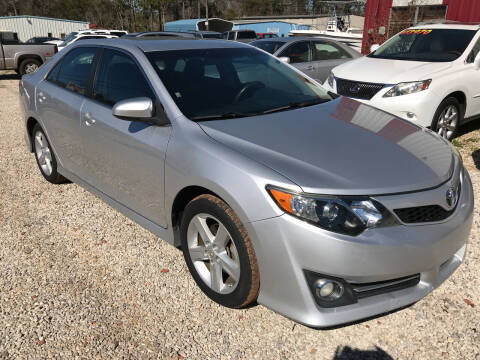 2012 Toyota Camry for sale at Bay City Auto's in Mobile AL