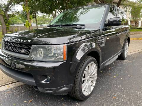 2011 Land Rover Range Rover Sport for sale at RoMicco Cars and Trucks in Tampa FL
