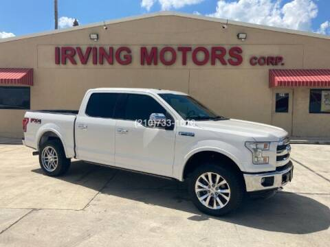 2015 Ford F-150 for sale at Irving Motors Corp in San Antonio TX