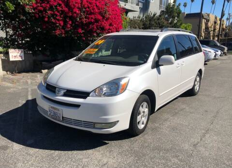 2004 Toyota Sienna for sale at Eden Motor Group in Los Angeles CA