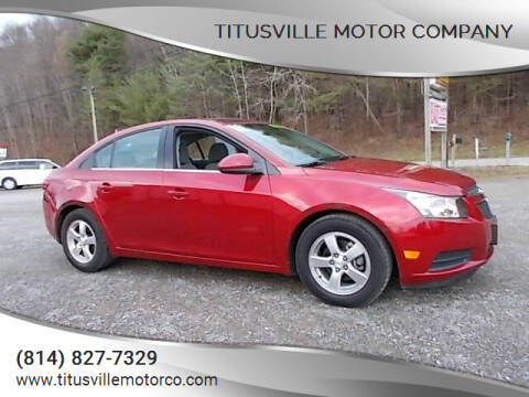 2011 Chevrolet Cruze for sale at Titusville Motor Company in Titusville PA