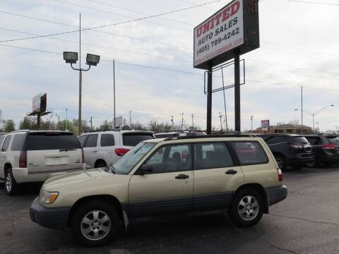 2001 Subaru Forester for sale at United Auto Sales in Oklahoma City OK