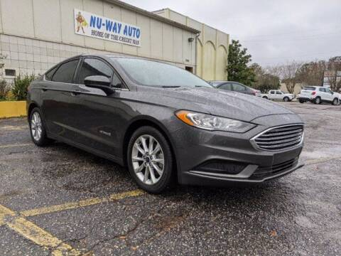 2017 Ford Fusion Hybrid for sale at Nu-Way Auto Ocean Springs in Ocean Springs MS